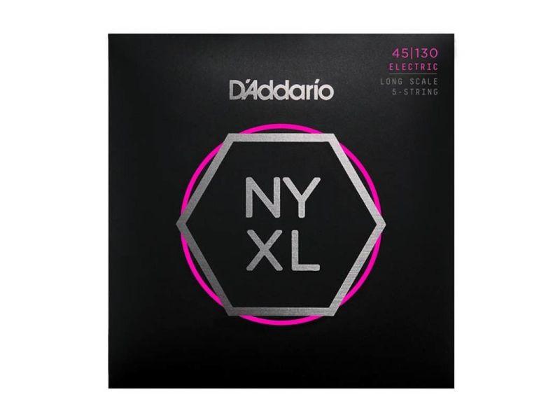 Купить D'addario NYXL45130 Струны для бас-гитары (45-130)