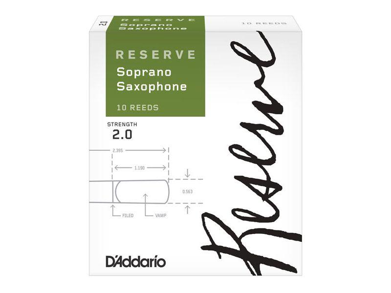Купить D'addario DIR1020 Трости для сопрано саксофона (цена за шт)