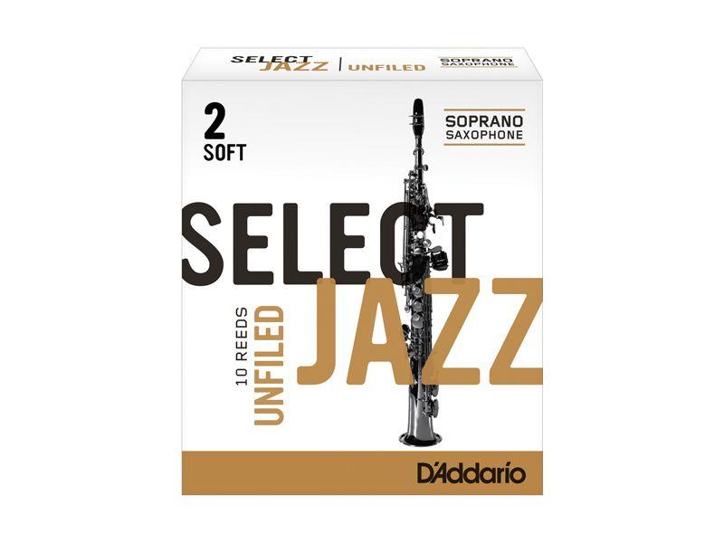Купить D'addario RRS10SSX2S Трости для сопрано саксофона (цена за шт)