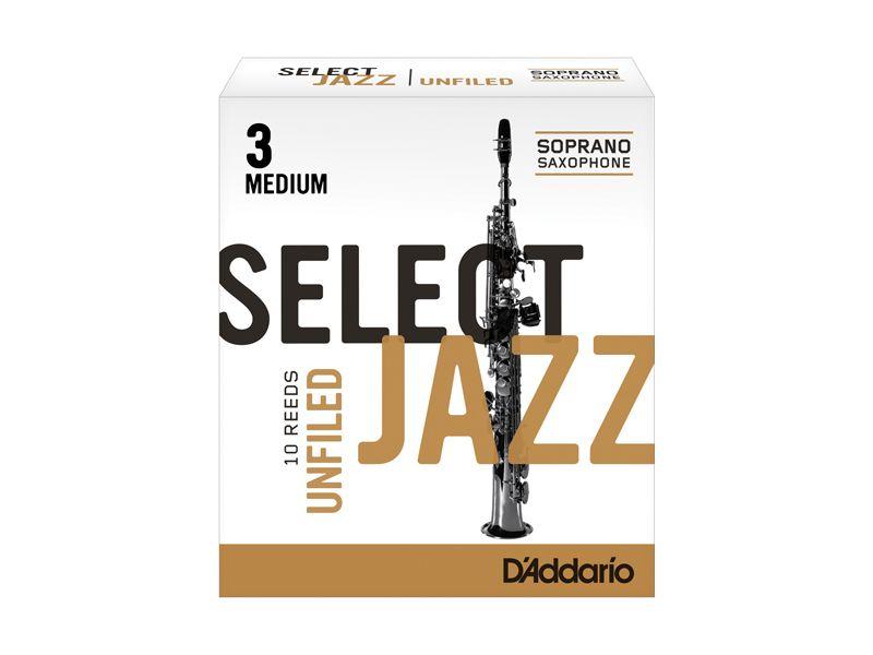 Купить D'addario RRS10SSX3M Трости для сопрано саксофона (цена за шт)