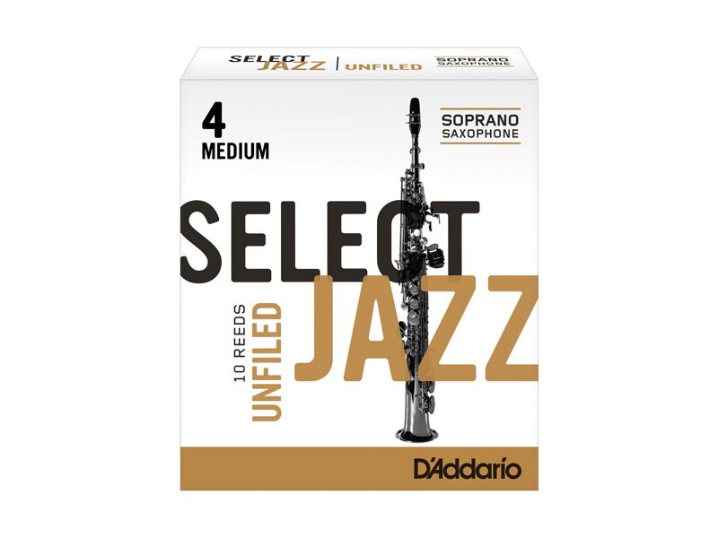 Купить D'addario RRS10SSX4M Трости для сопрано саксофона (цена за шт)