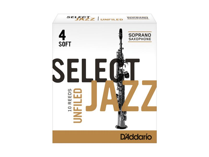 Купить D'addario RRS10SSX4S Трости для сопрано саксофона (цена за шт)