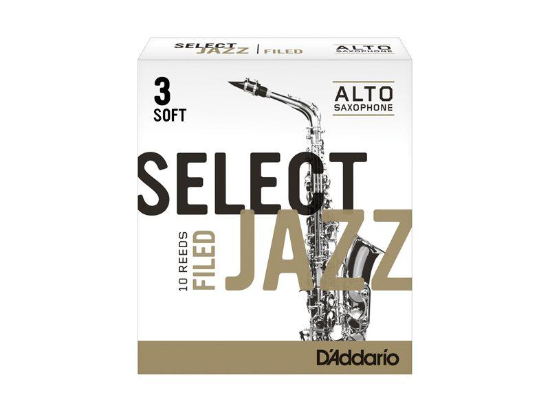 Купить D'addario RSF10ASX3S Трости для альт саксофона (цена за шт)