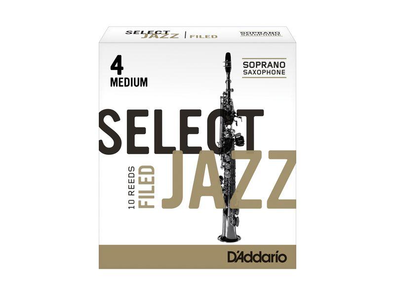 Купить D'addario RSF10SSX4M Трости для сопрано саксофона (цена за шт)