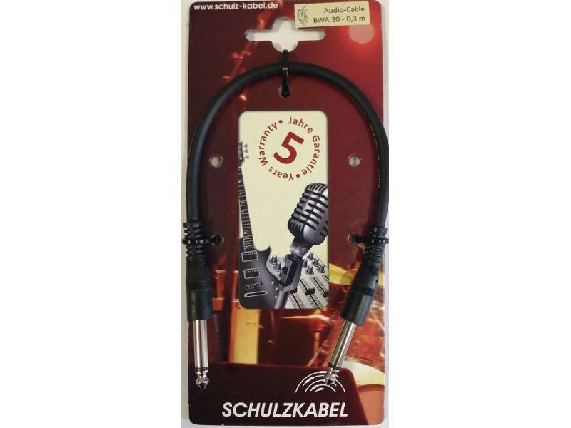 Купить Schulz Kabel BWA30 Кабель с разъемами Mono jack 0,3 м