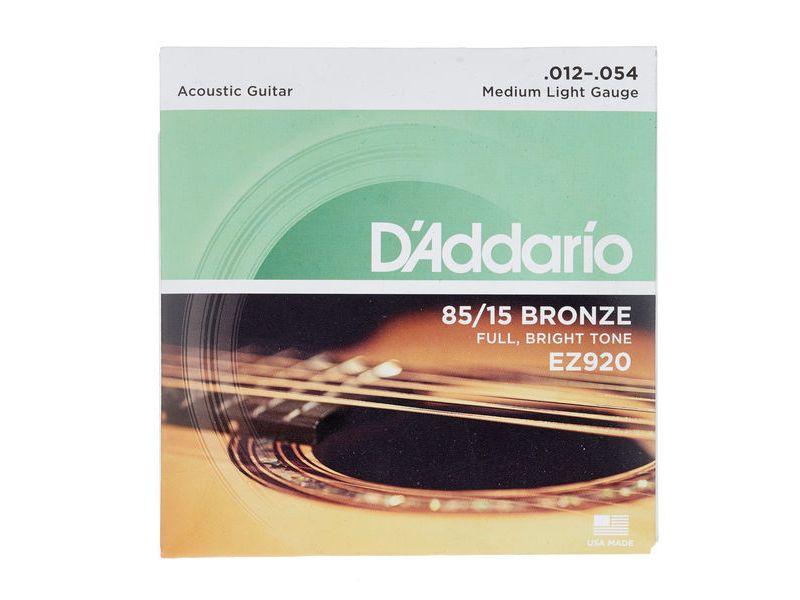 Купить D'addario EZ-920 Струны для акустической гитары