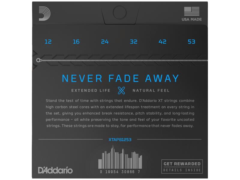 Купить D'addario XTAPB1253 Струны для акустической гитары