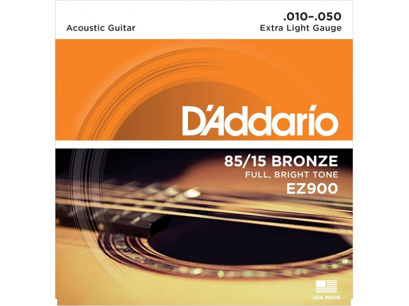 Купить D'addario EZ-900 Струны для акустической гитары