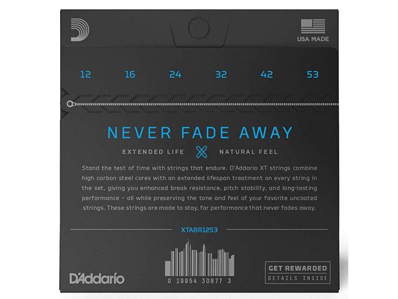 Купить D'addario XTABR1253 Струны для акустической гитары