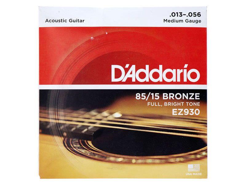 Купить D'addario EZ-930 Струны для акустической гитары (13-56)