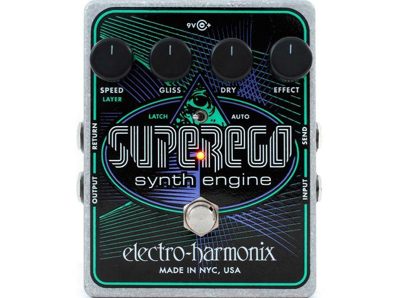 Купить Electro-Harmonix SUPEREGO Педаль эффектов